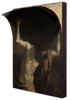 Nicola Samori, Volta del Mondo, 2014, oil on copper, 40 x 30 x 10 cm