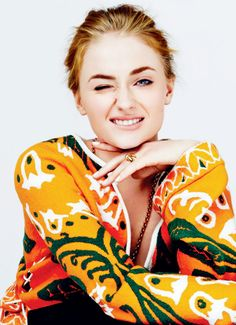 Sophie Turner for Glamour Mexico (July 2015)