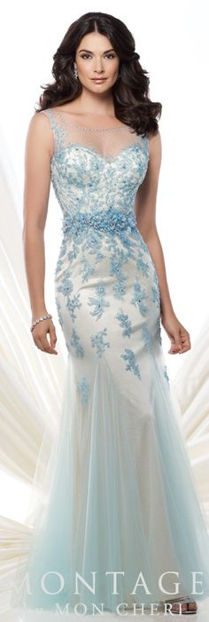 Montage by Mon Cheri Spring 2015 - Style No. 115972 montagebymoncheri.com. #eveningdresses #motherofthebridedresses