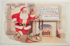 stock-graphics-vintage-santa-christmas-post-cards-324 | Stock Graphics | Vintage Graphics | Public Domain Images | Royalty Free Images