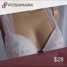 Victoria's Secret 32D Dream angel push-up bra new Victoria's Secret 32D dream angels push up bra new with tag. Retail price 79.50 plus tax.note it have a little stain but is washable I don't what to wash because it new Victoria's Secret Intimates & Sleepwear Bras
