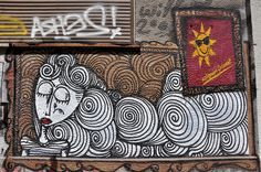Athens - Street Art - graffiti in Exarchia Anamorphic, Street Art Graffiti, Chalk Art, Urban Art, Art Google, Athens, Animal Print Rug, Cool Pictures, Greece