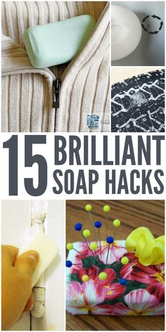 Soap Hacks: 15 Unusual Ways to Use Bar Soap - One Crazy House Crafts For Teens To Make, Crafts To Sell, Diy And Crafts, Easy Crafts, Hacks Diy, Home Hacks, Cleaning Hacks, Diy Spring, Spring Crafts