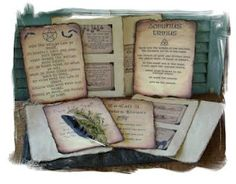 Great book page ideas for your spell book Holidays Halloween, Happy Halloween, Halloween Decorations, Book Journal, Journals, Witch Spell, Cool Books, Halloween Prints, Witchcraft