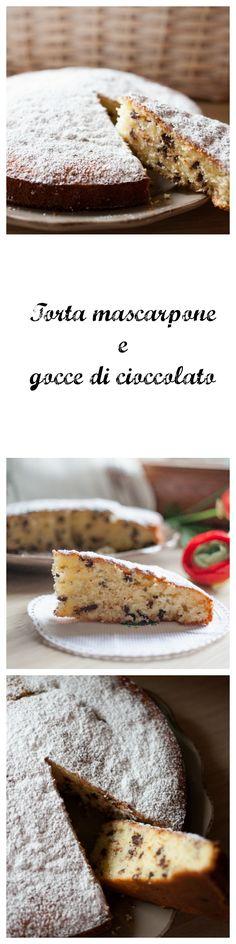 Delisiosa torta con mascarpone e gocce di cioccolato! si scioglie in bocca! #dolci #cioccolato #dolci con cioccolato #dolci con mascarpone #torta al mascarpone e gocce di cioccolato