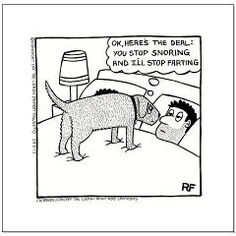 The Negotiation - Small Poster > The Negotiation > Off The Leash Doggy Cartoons Shop