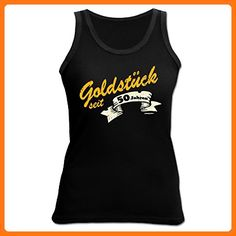 Witziges Geschenk zum 50. Geburtstag - Damen Tank Top - Goldstück seit 50 Jahren - Sport Shirt (*Partner Link)