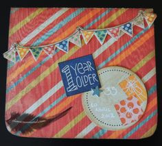 eLoRoEsUnMeTaL: Tarjeta Cumpleaños Colorida