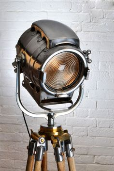 Image of Bardwell - vintage industrial theatre light