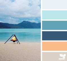{ color escape } image via: @thebungalow22