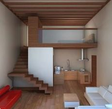 45 Ideas for bath room tiny house stairs Tiny House Stairs, Loft House, Tiny House Living, Tiny House Plans, House Rooms, House Bath, Living Room, Attic Stairs, Mini Loft