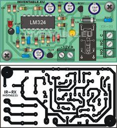 Barrera_IR doble modo - Construcción de una barrera infrarroja de largo alcance con componentes comunes. El circuito puede ser usado también como sensor de proximidad reflexivo.