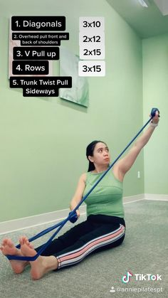 Fitness Workouts, Fitness Workout For Women, At Home Workouts, Posture Exercises, Back Exercises, Shoulder Exercises, Shoulder Tendonitis Exercises, Stretches, Pilates For Beginners
