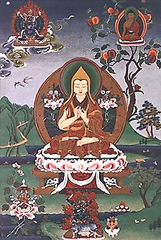 """Tsongkhapa (1357–1419), whose name means """"The Man from Onion Valley"""", was a famous teacher of Tibetan Buddhism whose activities led to the f..."""