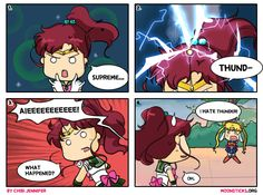 Sailor Jupiter Comes Thundering In (Comic) by Chibi-Jennifer on DeviantArt