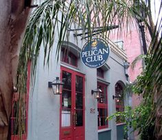 Pelican Club. New Orleans, LA. Tucked away in a quiet alley in the French Quarter, a great atmosphere for classic Creole fare.