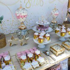 """Στολισμός Βάπτισης-Candybar """"Shine like a Star"""" Αστέρι-Φεγγάρι Bar Cart, Home Decor, Decoration Home, Room Decor, Interior Decorating"""