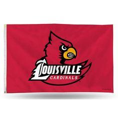 Louisville Cardinals NCAA 3in x 5in Banner Flag