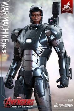 New Hot Toys Figure Reveals War Machine's Age of Ultron Armor - IGN