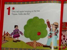 Ten Red Apples by Pat Hutchins Apple Activities, Book Activities, Online Stories, Books Online, Music Math, Apple Unit, Silly Songs, Johnny Appleseed, Apple Theme