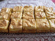 Jabĺčkový zákusok - My site Pretzel Desserts, Köstliche Desserts, Delicious Desserts, Dessert Recipes, Yummy Food, Kolaci I Torte, Russian Recipes, Sweet And Salty, Party Cakes