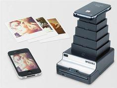 turn your phone-camera shots into Polaroid-style prints