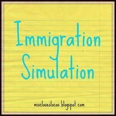 Immigration Simulation   Mis Clases Locas