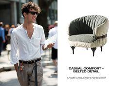 Urbanspace Interiors – Furniture + Fashion Mash-Up: Diesel on the Street