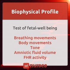 Biophysical Profile