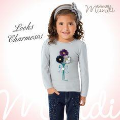 Flores para uma flor <3   #modainfantil #brandili #criancaestilosa