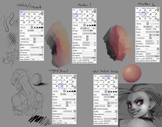 brushes paint tool sai: 13 тыс изображений найдено в Яндекс.Картинках