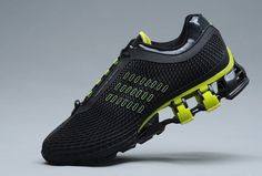 700d99919 Adidas Porsche Design S2 Original Running Shoe Mens BOUNCE S2 Black Or Lime Adidas  Bounce