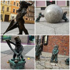 Hunt for #Dwarf figurines in Wroclaw #Travel