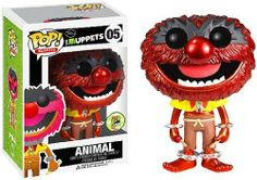 Funko POP! Muppets 2013 SDCC San Diego Comic-Con Exclusive Vinyl Figure Animal [Metallic] http://popvinyl.net #funko #funkopop #popvinyls #disney