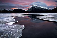 Mt Rundle - Banff by LukeAustin.deviantart.com on @deviantART