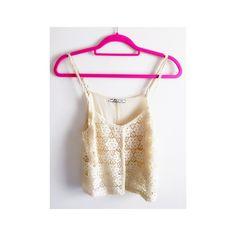 Spaghetti Strap Top Cream || Lace || Spaghetti Strap || Top Chloe K Tops Tank Tops