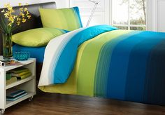 15 Cool Blue and Green Duvet Sets