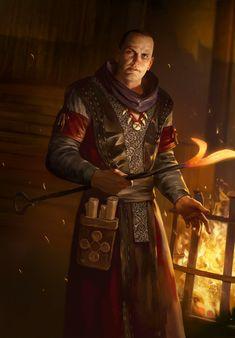 Warhammer Fantasy Roleplay, Fantasy Rpg, Medieval Fantasy, Fantasy Artwork, Dark Fantasy, Dungeons And Dragons Characters, Dnd Characters, Fantasy Characters, Character Concept