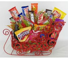 Higdon Florist | Flowers and Gifts in Joplin, MO - Candy Sleigh for Christmas