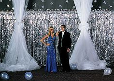 prom decoration images | Prom Decorating: Gossamer... Thats A Wrap!