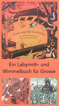 Ein Wimmelbuch mit 11 Labyrinthen eingebettet in eine Rahmengeschichte. Auf dem Blog stelle ich euch das Kinderbuch näher vor.