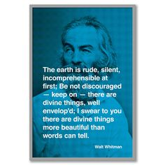 walt whitman - one of my favorite poets