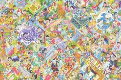 The 'Largest Crowdsourced Drawing' In Existence Attempts To Illustrate The Entire Internet