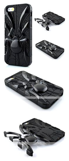 Super cool spider shape phone case for guys.