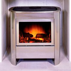 Gazco Steel Manhattan Electric Stove Medium www.qualitystoves.co.uk Quality Stoves Tenterfields Business Park Luddendenfoot Halifax HX2 6EQ West Yorkshire Tel: 01422 /883196/881641/845069