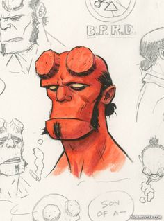 Hellboy by Paolo Rivera *