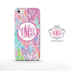 Monogram iPhone 5 Case Celebration Pattern by magicmonogramm