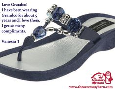 c531ab5ca6a34 GRANDCO SANDALS - Best Selection of jeweled sandals at The Accessory Barn!