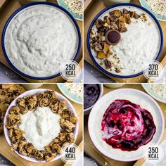 Oats Recipes, Milk Recipes, Smoothie Recipes, Pudding Oats, Overnight Oats With Yogurt, Weight Watcher, Porridge Oats, Oatmeal Chocolate Chip Cookies, Breakfast Dessert