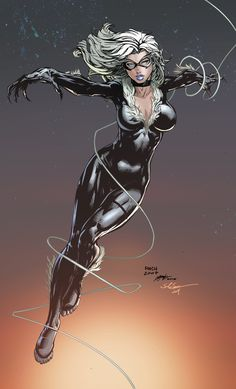 Black Cat by David Finch